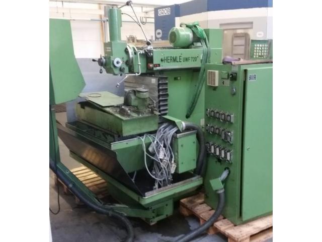 HERMLE CNC- Fräsmaschine UWF 720 - 1