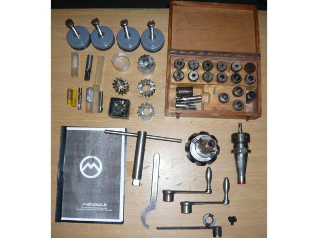MONDIALE Univ.- Werkzeugfräsmaschine VIKING 1MA - 8