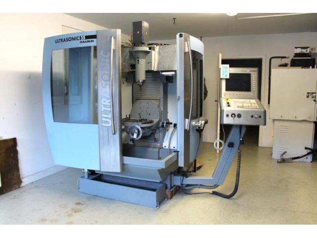 Bearbeitungszentrum DMG Mori Ultrasonic Sauer 35 BJ 2004 - 1