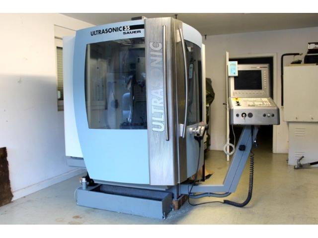 Bearbeitungszentrum DMG Mori Ultrasonic Sauer 35 BJ 2004 - 2