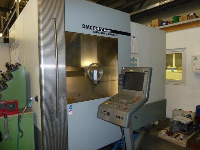 Bearbeitungszentrum Deckel Maho DMC64 - 2