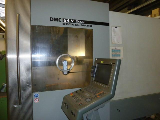Bearbeitungszentrum Deckel Maho DMC64 - 3
