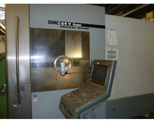 Bearbeitungszentrum Deckel Maho DMC64 - Bild 3