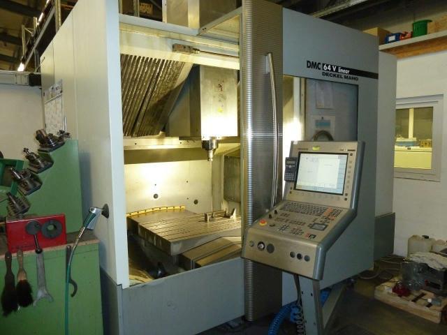 Bearbeitungszentrum Deckel Maho DMC64 - 8