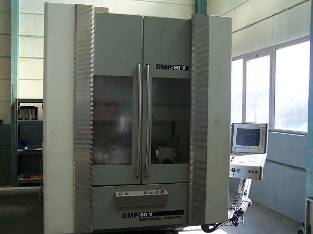 4 Achsen Bearbeitungszentrum Deckel Maho DMP 60 V - 1