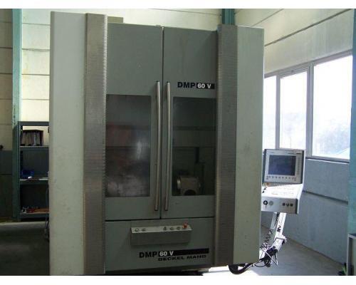 4 Achsen Bearbeitungszentrum Deckel Maho DMP 60 V - Bild 1
