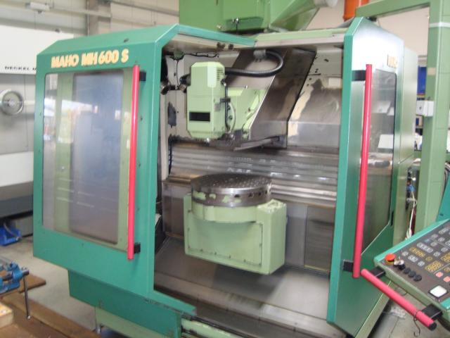 4-Achsen Bearbeitungszentrum Maho 600S - 2
