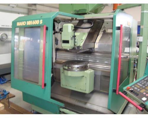 4-Achsen Bearbeitungszentrum Maho 600S - Bild 2