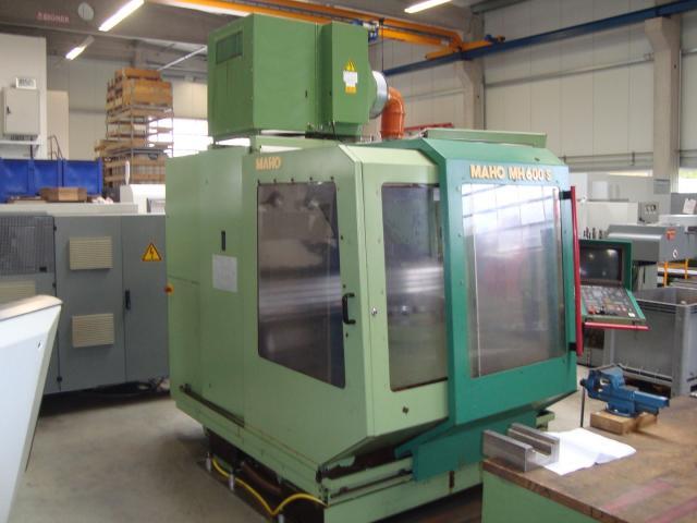 4-Achsen Bearbeitungszentrum Maho 600S - 4