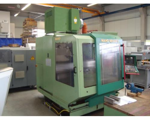 4-Achsen Bearbeitungszentrum Maho 600S - Bild 4