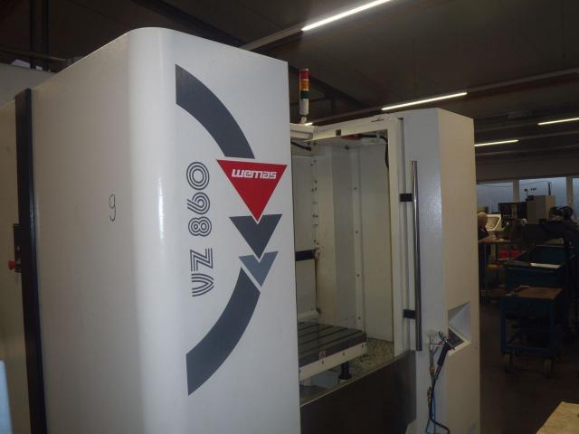 Bearbeitungszentrum Wemas VZ 860 APC - 8