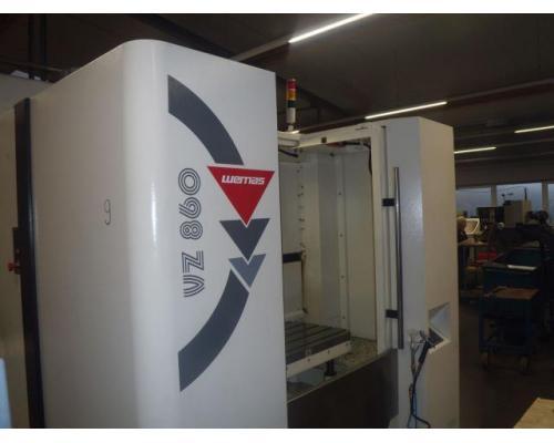 Bearbeitungszentrum Wemas VZ 860 APC - Bild 8