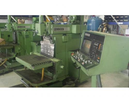 Fräsmaschine Mikron WF 3 DCM - Bild 2