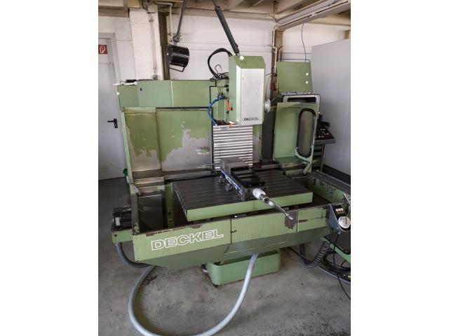 Werkzeugfräsmaschine Deckel FP4NC - 1