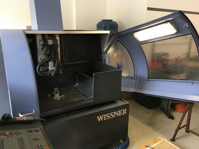 HSC-Fräsmaschine  Wissner Gamma 605 - 3