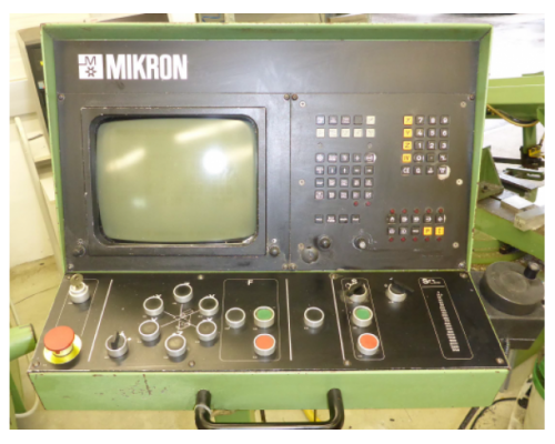 Fräsmaschine Mikron WF3 DCM - Bild 3