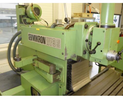 Fräsmaschine Mikron WF3 DCM - Bild 4