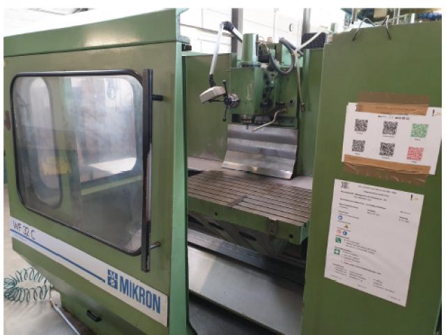 CNC Fräsmaschine WF32C - 1