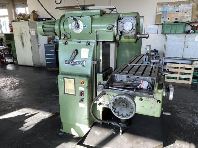 Universalfräsmaschine Reiden FU 150 A - 1