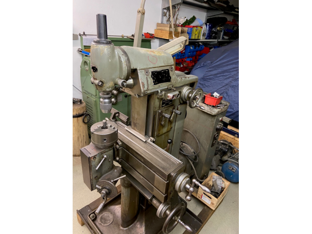 Fräsmaschine Deckel FP1 - 3