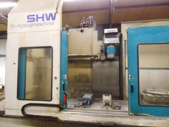 Bettfräsmaschine SHW UFZ 4 - 2