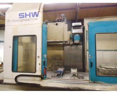 Bettfräsmaschine SHW UFZ 4 - Bild 2