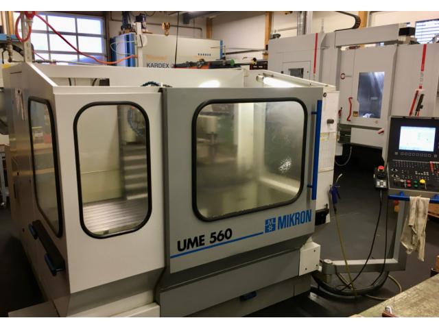 Fräsmaschine Mikron UME560 - 1