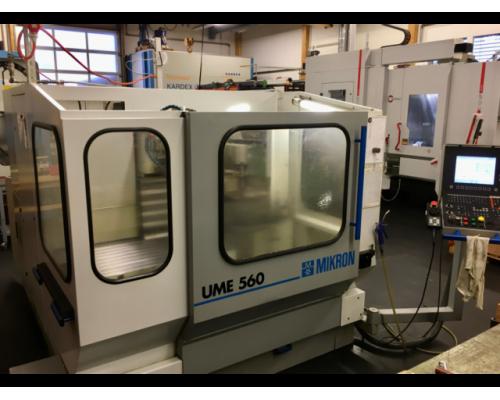 Fräsmaschine Mikron UME560 - Bild 1