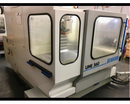Fräsmaschine Mikron UME560 - Bild 2