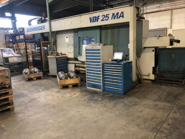 CNC-Drehmaschine Boeringer VDF 25 MA - 1