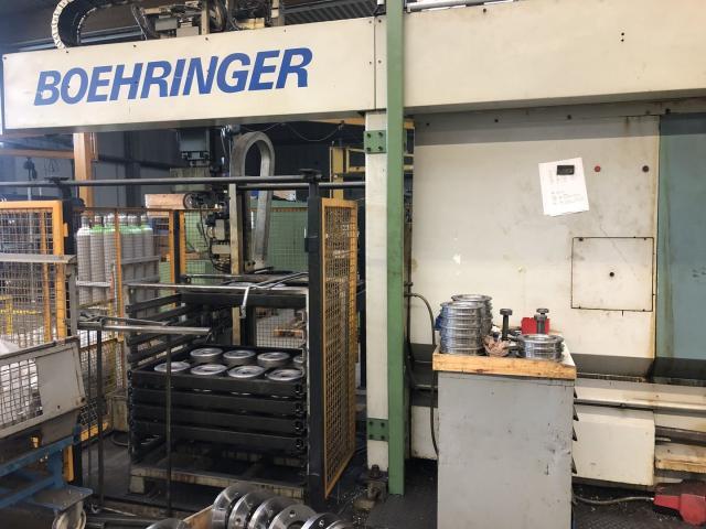 CNC-Drehmaschine Boeringer VDF 25 MA - 2
