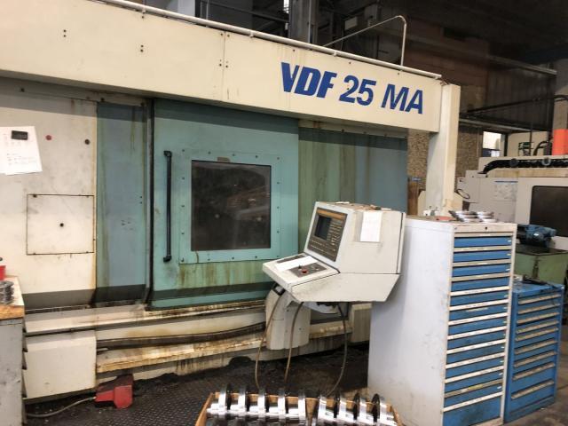 CNC-Drehmaschine Boeringer VDF 25 MA - 3