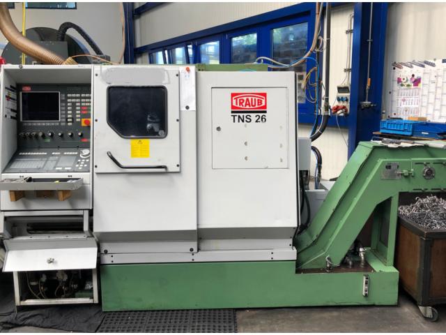 CNC Gegenspindel-Drehmaschine Traub TNS 26D - 3