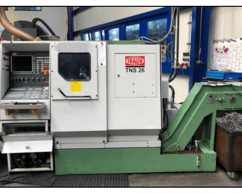 CNC Gegenspindel-Drehmaschine Traub TNS 26D - Bild 3