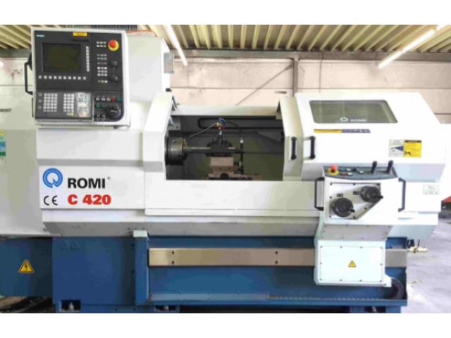 Drehmaschine Romi C420 - 1