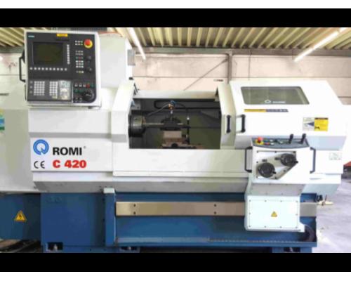 Drehmaschine Romi C420 - Bild 1