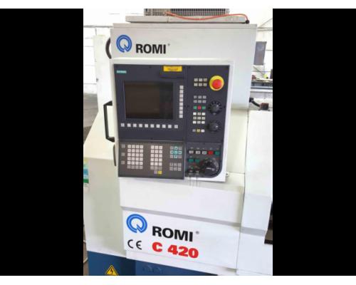 Drehmaschine Romi C420 - Bild 2