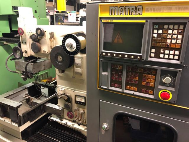 Drahterodiermaschine Matra Fanuc Tape-Cut M - 2