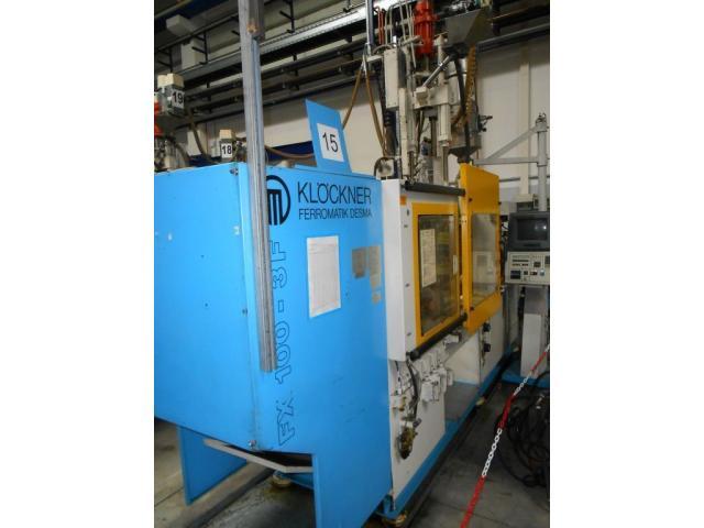 Spritzgiessmaschine Ferromatik FX 100 3F - 1