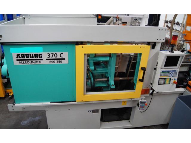 Spritzgießmaschine Arburg Allrounder Centex 370C 800-350 - 3
