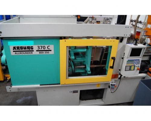 Spritzgießmaschine Arburg Allrounder Centex 370C 800-350 - Bild 3