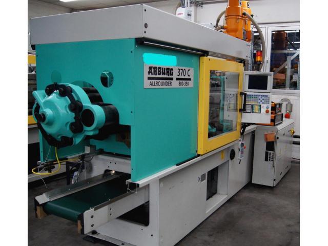 Spritzgießmaschine Arburg Allrounder Centex 370C 800-350 - 4