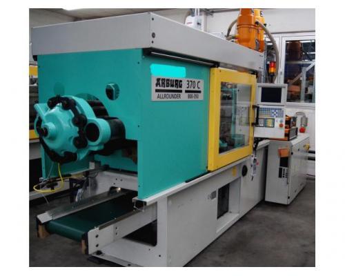 Spritzgießmaschine Arburg Allrounder Centex 370C 800-350 - Bild 4