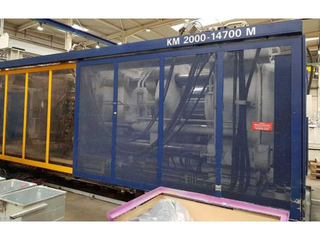 Spritzgießmaschine Krauss Maffei KM 2000-14700 M - 2