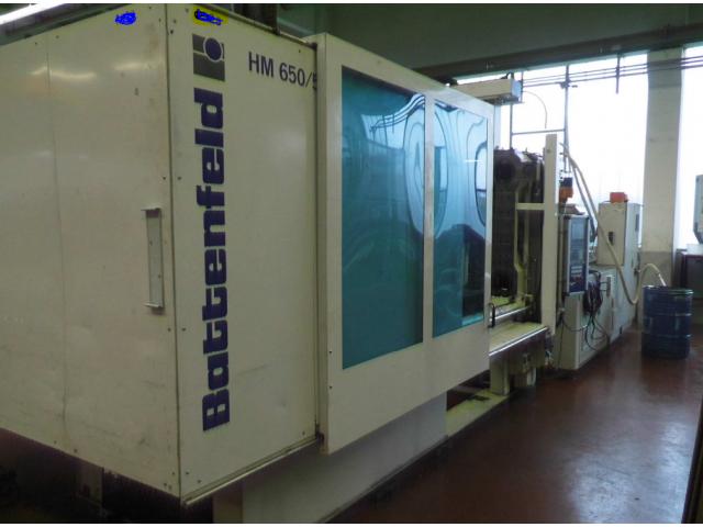 Spritzgießmaschine Battenfeld HM 650/5100 - 1