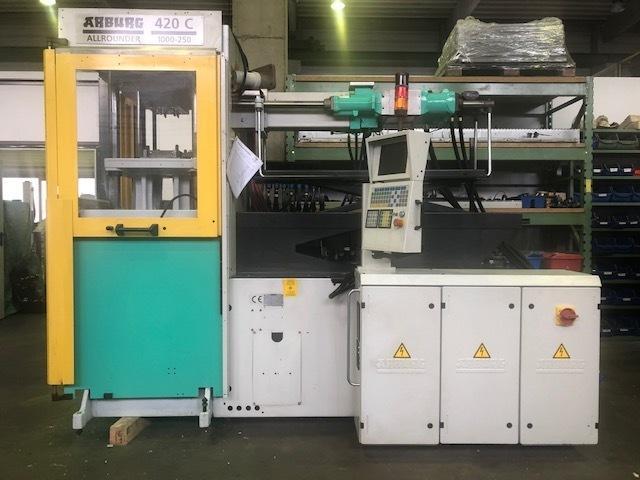 Spritzgießmaschine Arburg 420C 1000-250 - 1