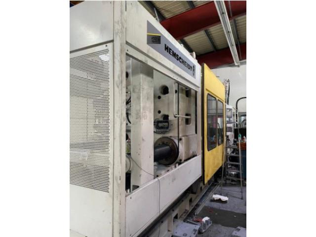 Spritzgießmaschine Hemscheidt HM 11400-1250H - 3