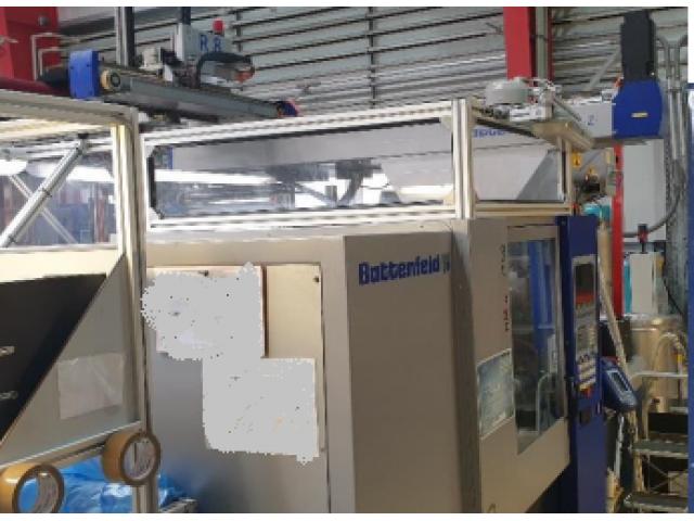 2x Spritzgiessmaschinen Battenfeld HM 1600/525 - 3