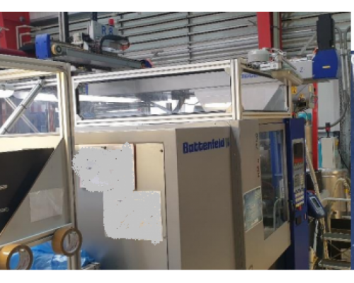 2x Spritzgiessmaschinen Battenfeld HM 1600/525 - Bild 3