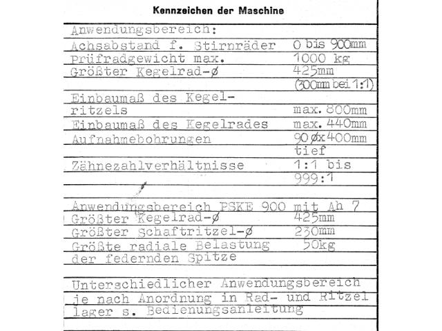 Einflankenwalzprüfmaschine Klingenberg PSKE 900 BJ 1977 - 6